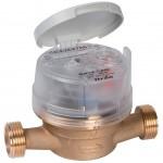 Contador de agua y grifo de contador