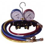 Manifold y Vacuómetro